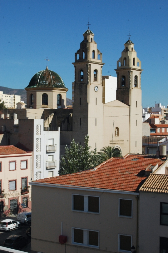 Santa Ana desde el tejado