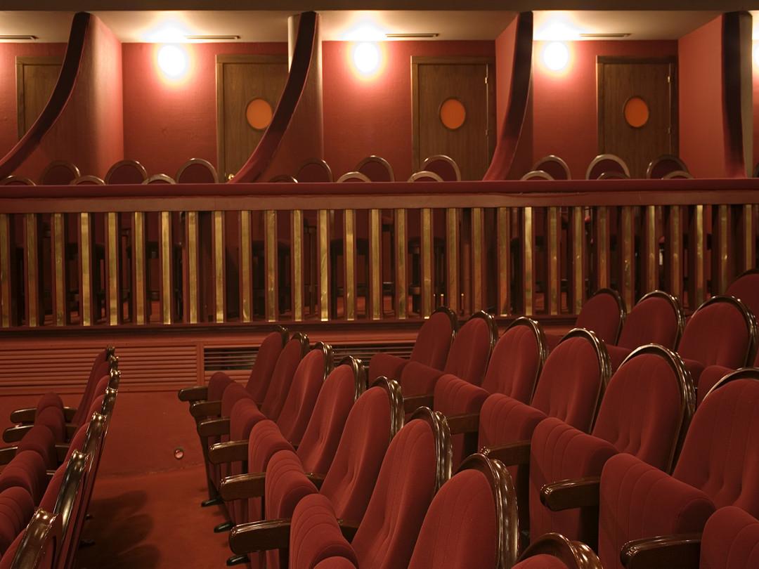 Detalle palcos platea