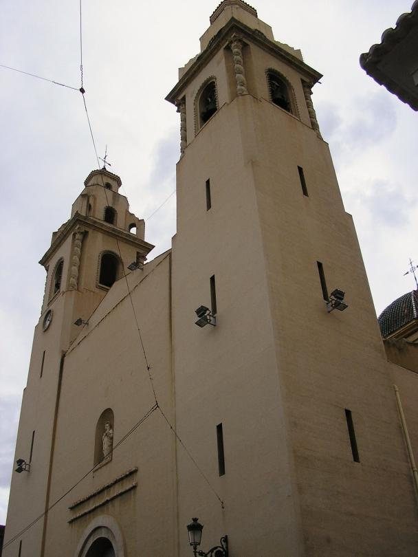 Fachada de Santa Ana