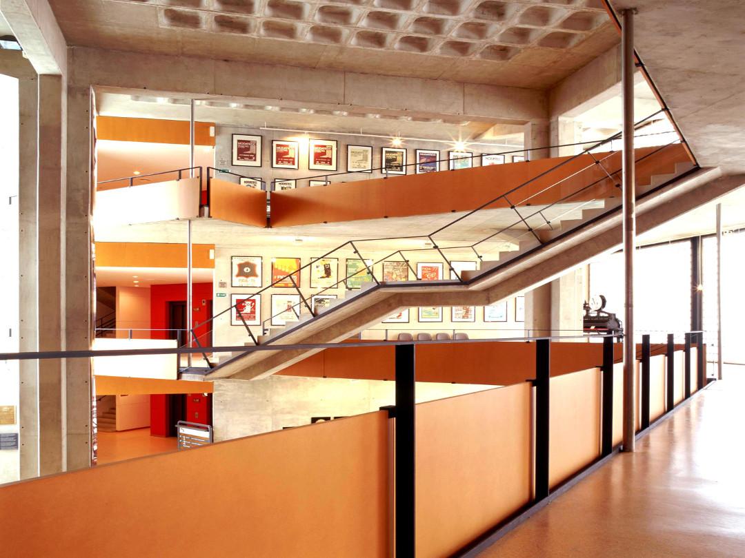 Vista interior Museo del Calzado. Ciudad de Elda.