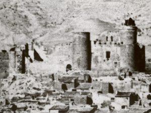 Castillo de Elda 1858