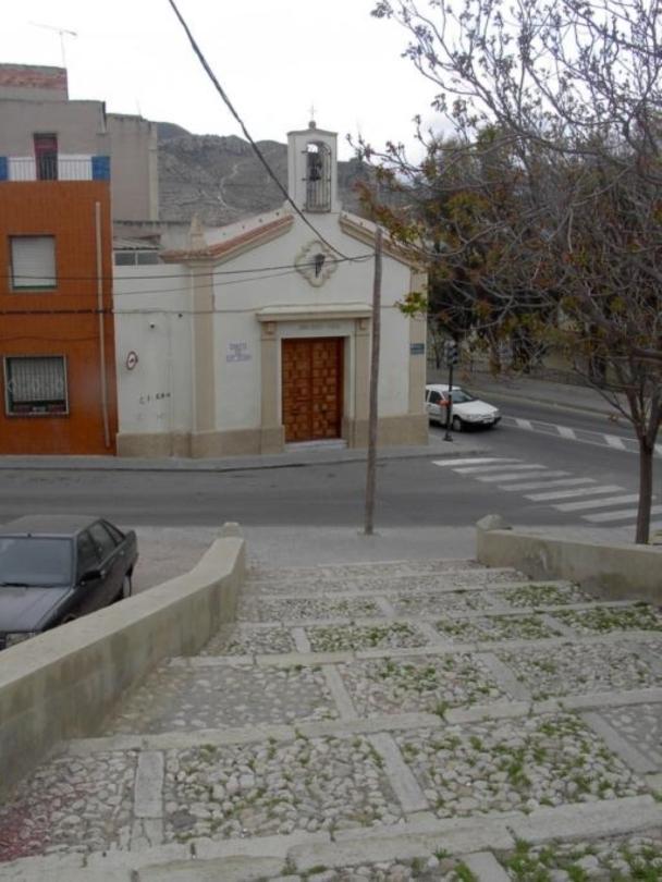 Ermita San Antón desde las escaleras