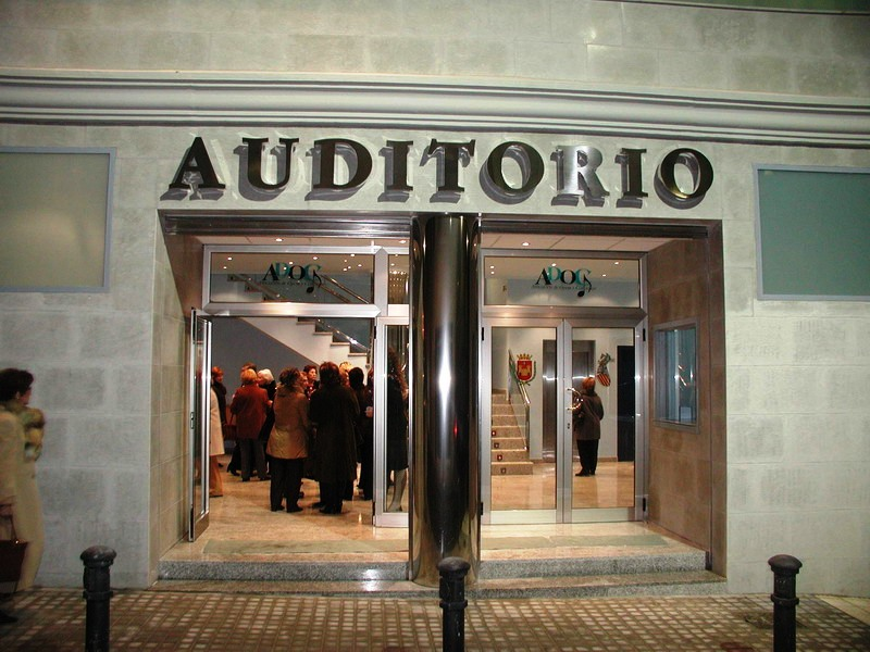 Fachada Auditorio ADOC