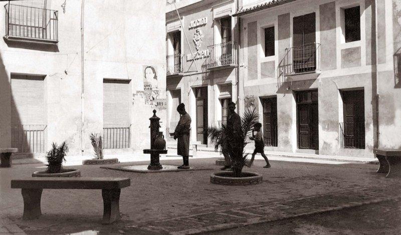 plaza de las monjas 1920