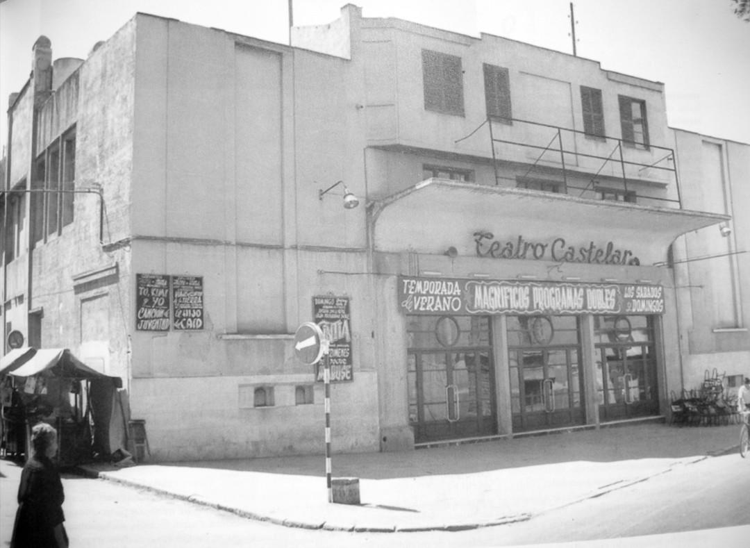 4. Fachada del antiguo Teatro Castelar. Anos 60-70
