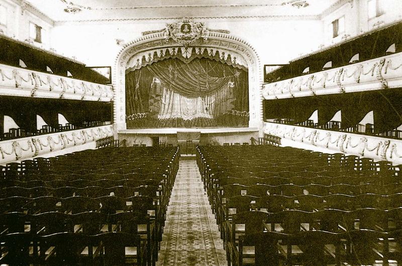4. Interior del teatro tras la reforma de 1921