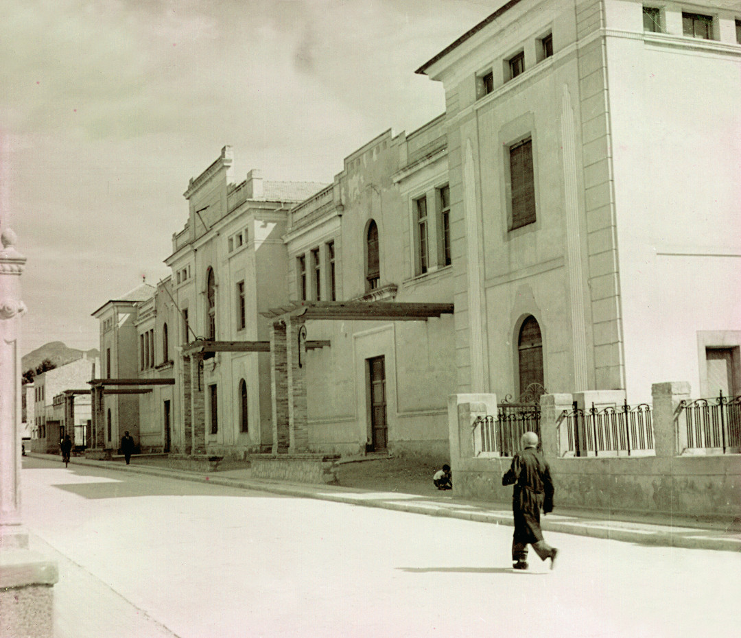7. Fachada Colegio Padre Manjon. Anos 50
